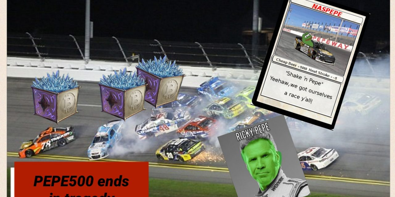 Breaking news from the PEPE500