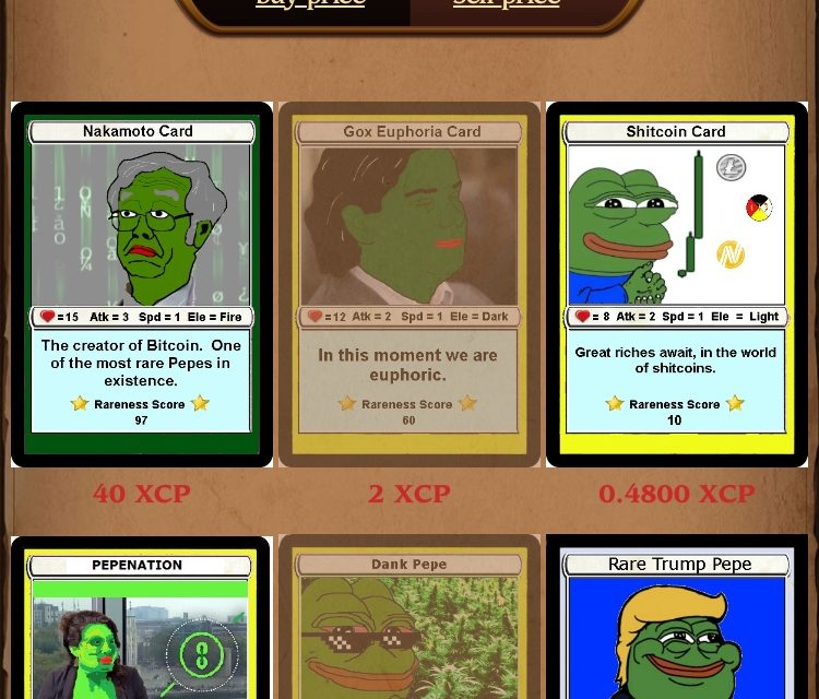 The RAREPEPE market is heating up
