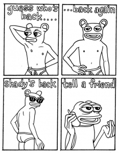 Matt Furie's Pepe Web Comic